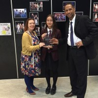 | Congratulations to Tallulah! Winner for her dress design at Basildon Fashion Week.